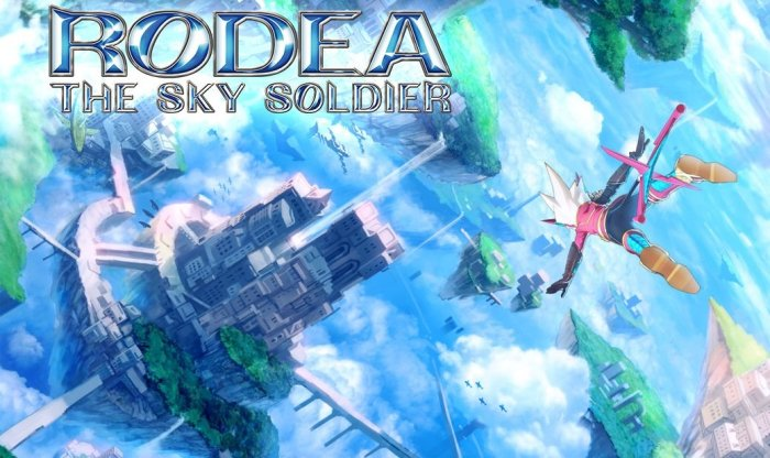 Rodea the Sky Soldier - Box