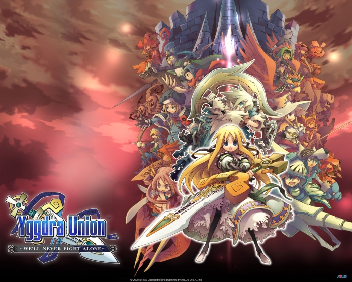 Yggdra Union - Cover Art