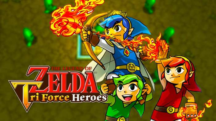 Tri Force Heroes - Logo